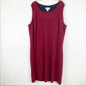 Christopher & Banks red tank dress